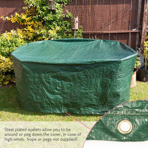 SAVISTO vodootporni pokrivac/cerada za stol i stolice