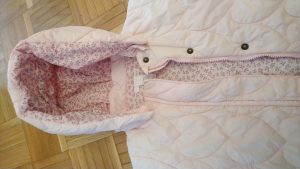 Jakna za djevojčice bebe 9-12 mj H&M