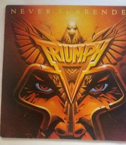 Triumph - Never Surrender / LP