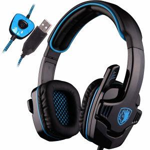 SADES SA901 USB 7.1 Surround gaming slušalice