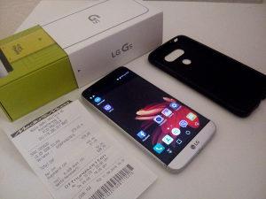 LG G5 4GB RAM full paket silver