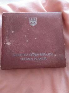 Plaketa grada Sarajeva