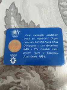 Medaljon ZOI 84
