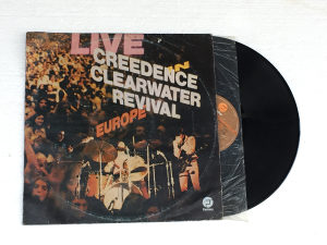 Creedence Clearwater Revival ‎- Live In Europe LP