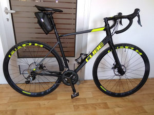 Bicikl Cube Attain Race Disc 2x10 58cm - Nov