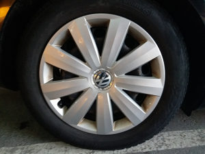 VW felge 16, 5x112, original Passat B7, Golf 7