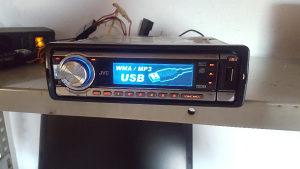 JVC AUTO RADIO USB MP3 MJENJA BOJE DISPLEJA