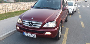 Mercedes ML 270 CDI salt 2003 model