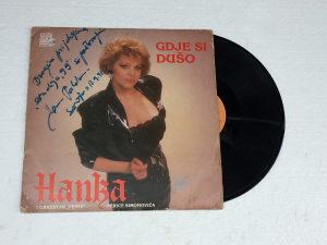 Hanka Paldum - Gdje Si Dušo LP (sa potpisom)