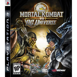 PS3 Playstation 3 Mortal Komat VS Dc Universe