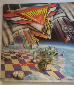 Triumph - Just A Game / LP