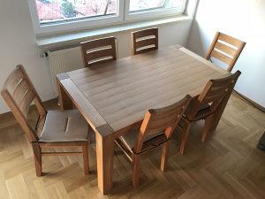 Trpezarijski sto na razvlačenje
