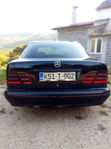 Mercedes e 220 cdi modificirani model