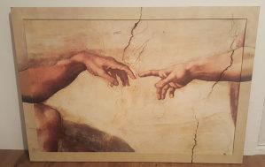Slika ,stvaranje Adama(Stvaranje čovjeka)!
