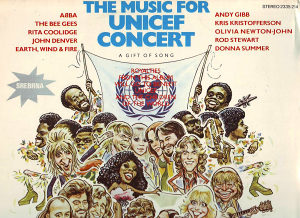 THE MUSIC FOR UNICEF CONCERT lp