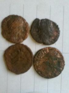 4 Rimska novčića