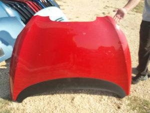Hauba seat toledo altea (crvena i crna)