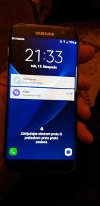 Samsung S7 edge-Black