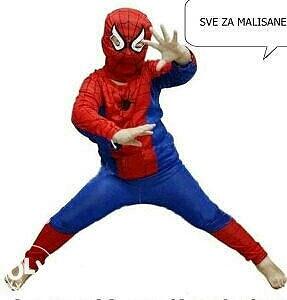 Spajdermen kostim