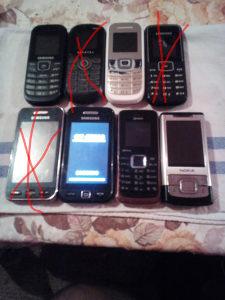Telefoni vise komada po 15KM komad