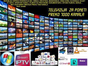 IPTV TV ZA PONIJETI 7000 Programa i Videoteka