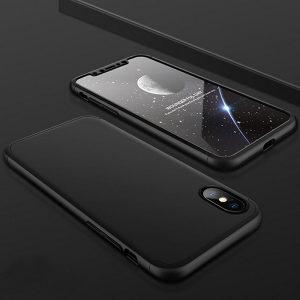 Maska 360* Apple Iphone X+Tempered Glass