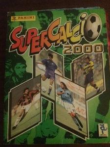 Panini album Serie A 2000g