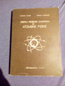 Zbirka rešenih zadataka iz atomske fizike