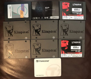 Hard disk ssd 120 GB Kingston