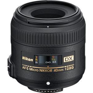 NIKON af-s 40mm f/2.8G DX makro - NIKKOR 40 mm