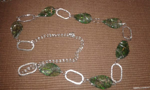 zeleni veliki lančić