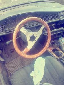 Mercedes volan drveni