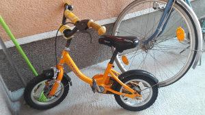 Djecije biciklo sa pomoćnim tockovima