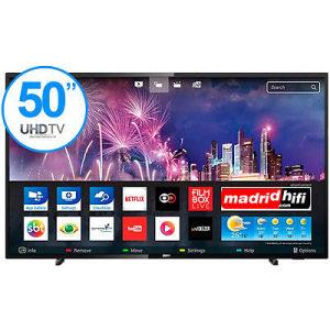 "Philips 4K 50"" UltraHD TV Smart 50PUS6503 WiFi UHD"