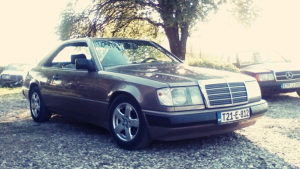 Mercedes W 124 230 CE cupe-kupe,fabricko stanje