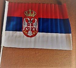 Zastavice Srbija za auto