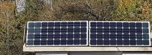 Solarni paneli sa baterijama. Solar