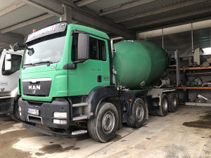 Mixer za beton Man TGS 37 360 MIXER