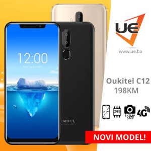 Oukitel Smartphone C12 PRO Black/Gold/Purple