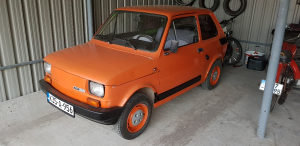 Fiat 126 Benzin peglica