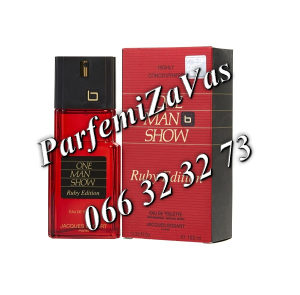 Jacques Bogart One Man Show Ruby Edition 100ml Tester M 100 ml