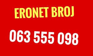 Eronet broj 063 555 098 / rezervis. /