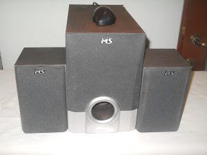 MS Industrial 2.1 zvucni sistem 30W