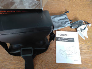 TURATA virtual reality glasses + slušalice