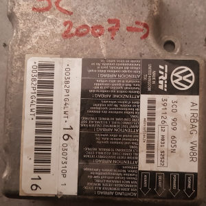 Elektronika modul airbaga passat 6 3C0909605N