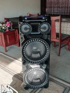 Bluetooth zvucnik 2x1000w dupli Bass