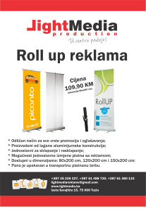 ROLL UP BANNER/PANO