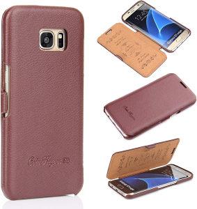Kozna futrola za Samsung Galaxy S7 Edge