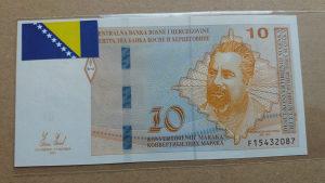 BiH 10 maraka 2012 unc Mak Dizdar