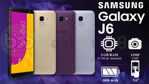 SAMSUNG GALAXY J6 32GB 3 GB NOVO